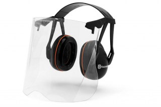 Garden Earmuffs with Perspex Visor